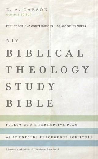 NIV Biblical Theology Study Bible HC